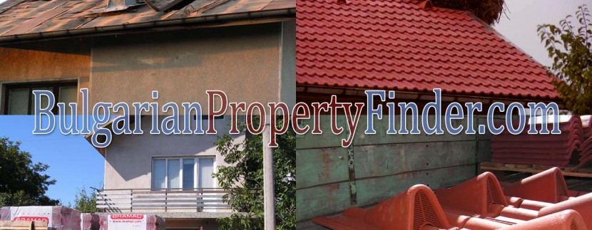 Roof renovation in Bulgaria