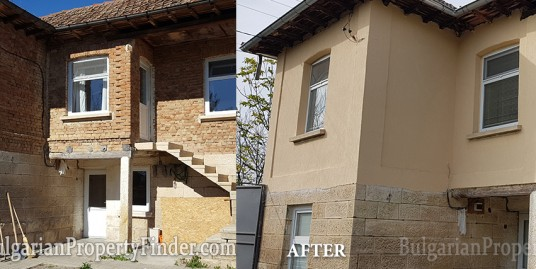 Before and after bathroom Ostritsa1